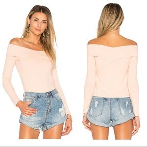 NWT By The Way Briony Off the Shoulder Top XS